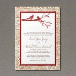 Wedding Invitation Template with Rustic Bird Design - keep the red if we use red as a color. maybe gold envelopes  http://www.downloadandprint.com/templates/rustic-bird-wedding-invitation-template/