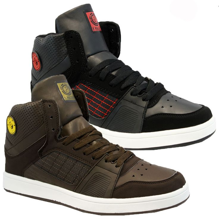 New mens #designer hi tops #basketball trainers boots #skate ankle pumps shoes si,  View more on the LINK: 	http://www.zeppy.io/product/gb/2/261825898257/