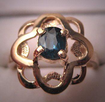 Vintage Sapphire Ring...gorgeous!Vintage Sapphire, Sapphire Collection, Sapphire Rings Gorge, Peach Sapphire, Peaches Sapphire