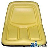 #ad John Deere 110, 112, 120, 140 lawn garden tractor seat  This first quality seat replaces many of the seats used on John Deere lawn and garden tractors. Guaranteed to fit the following models; Later 110 and 112 (model years 1968 to 1974), 120 (not L120), 140, 200, 208, 210, 212, 214, 216, 240, 245, 260, 265, 285, 300, 312, 314, 316, 317, 318, 322, 330, 332, 400, 420 and 430. This hi-back seat will also replace the low back seats found on models 108 (not L108), 111 (not L111), 112L..