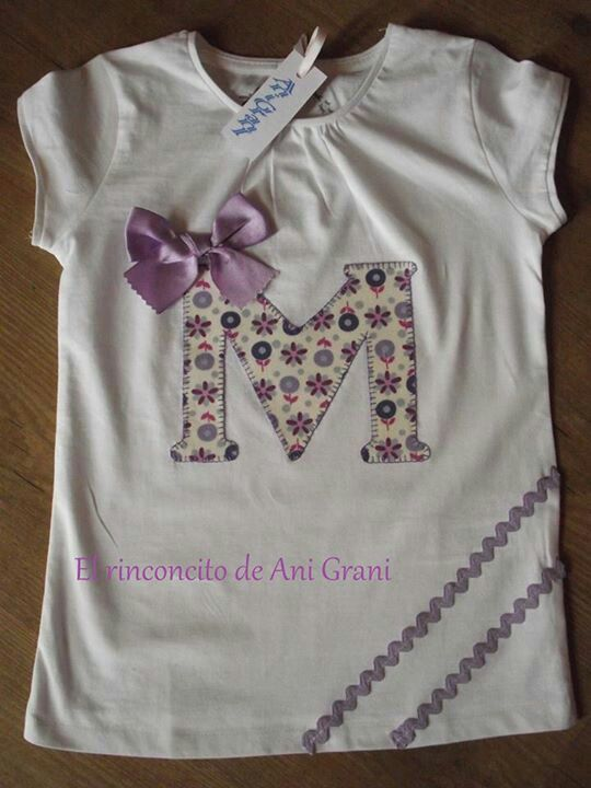 Camisetas.. a repin.. cute to make my lil girl