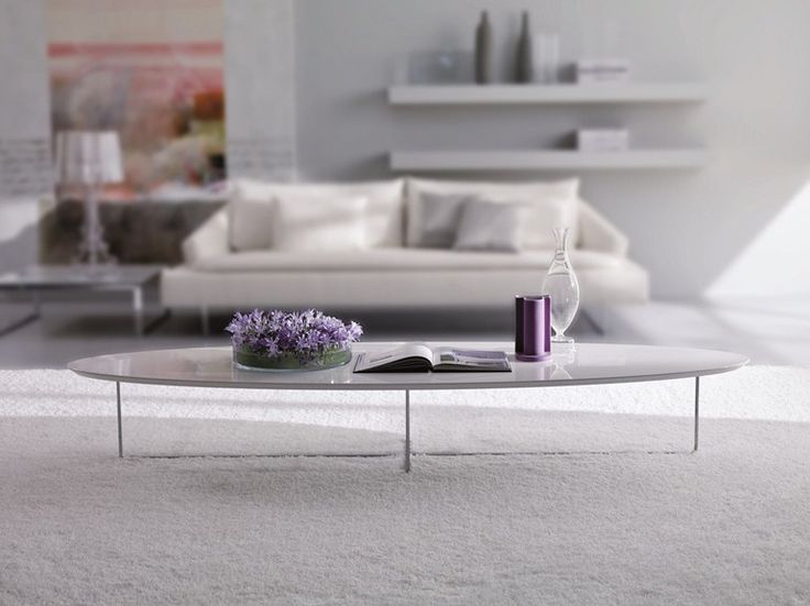 lacquered coffee table for living room Ground, Coffee Tables collection to manufacturer Bontempi Casa