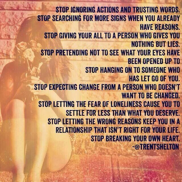 STOP....by Trent Shelton A Recovery from Narcissistic sociopath relationship