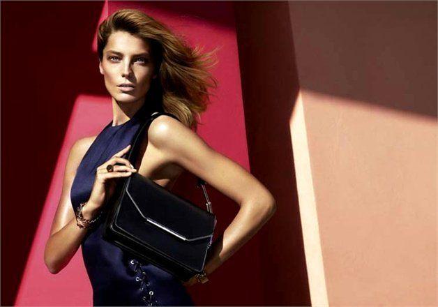 Daria Werbowy Fronts Salvatore Ferragamo Spring/Summer 2014 Campaign