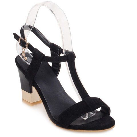 Sweet Women's Sandals With Slingback and T-Strap Design from 28.46$ by SAMMYDRESS