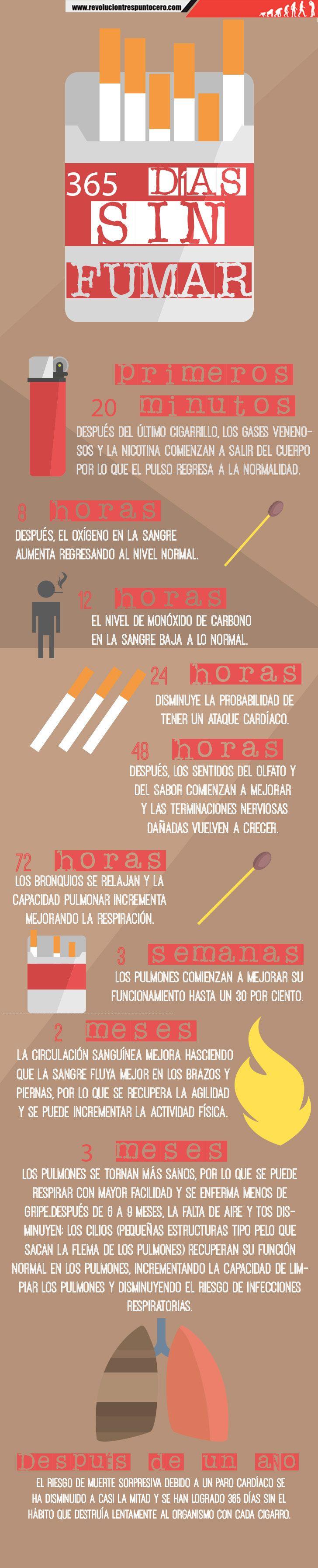 365 días sin fumar (INFOGRAFÍA) | Revolución Tres Punto Cero. http://www.farmaciafrancesa.com/main.asp?Familia=189&Subfamilia=498&cerca=familia&pag=1&p=211