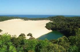 Lake Wabby, Fraser Island, Queensland