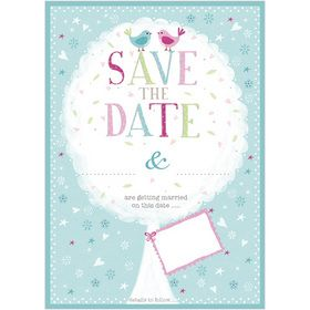 M108 Save the Date notecards (pack of 10). www.gailscards.com.au
