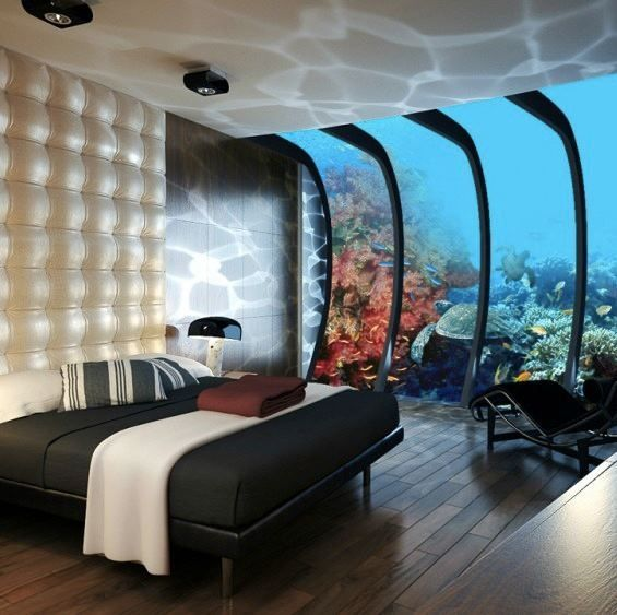Dude. Dubai Has Some Cool Shit. Planned Underwater Hotel
