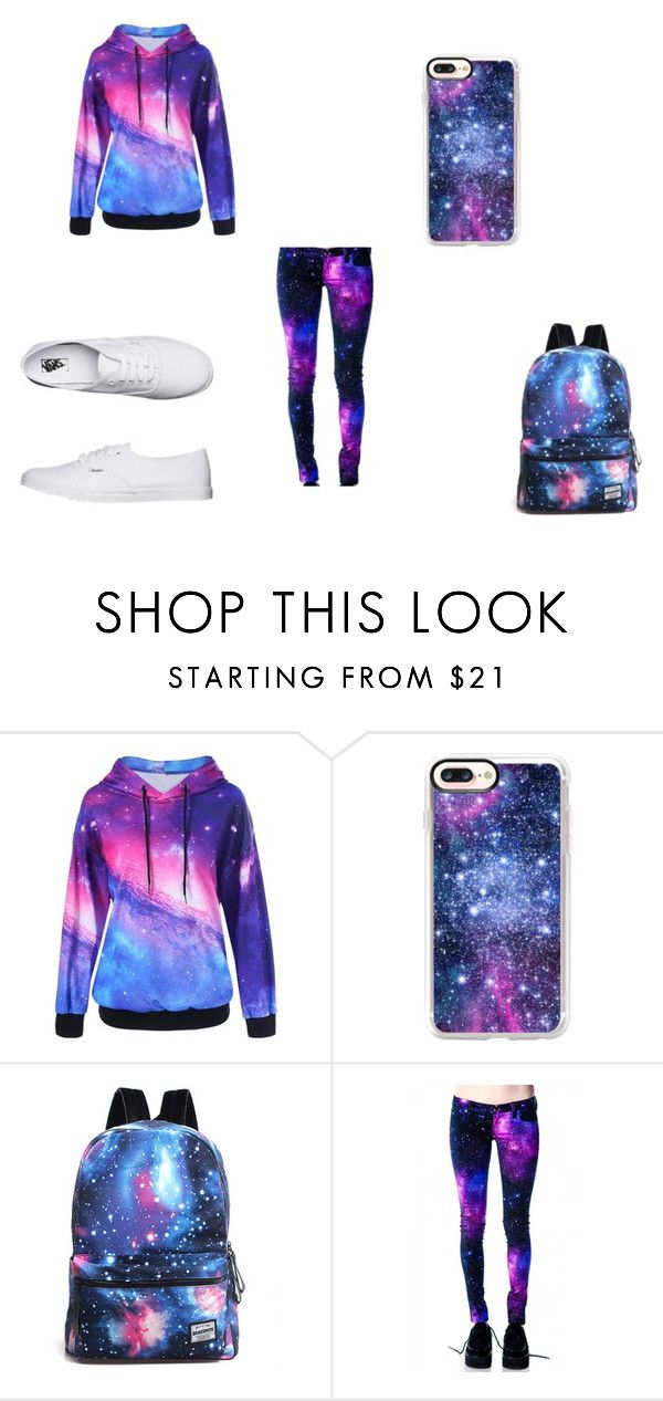 """""""ruimte sport"""" by latishapen ❤ liked on Polyvore featuring Casetify and Vans"""