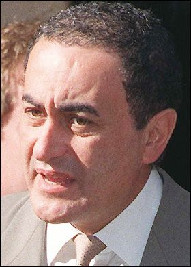 Dodi Fayed (1955 - 1997) Motion Picture Producer. He was killed in the Paris car crash that also killed Princess Diana Spencer.