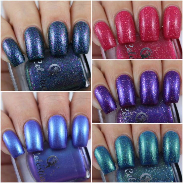 Celestial Cosmetics Aussie Indie Con 2017 Purchases - Swatches & Review by Olivia Jade Nails