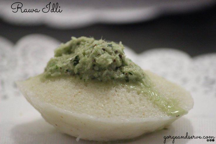 Semolina idli ( Savory cake )