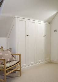Image result for english wardrobe company slanted ceiling