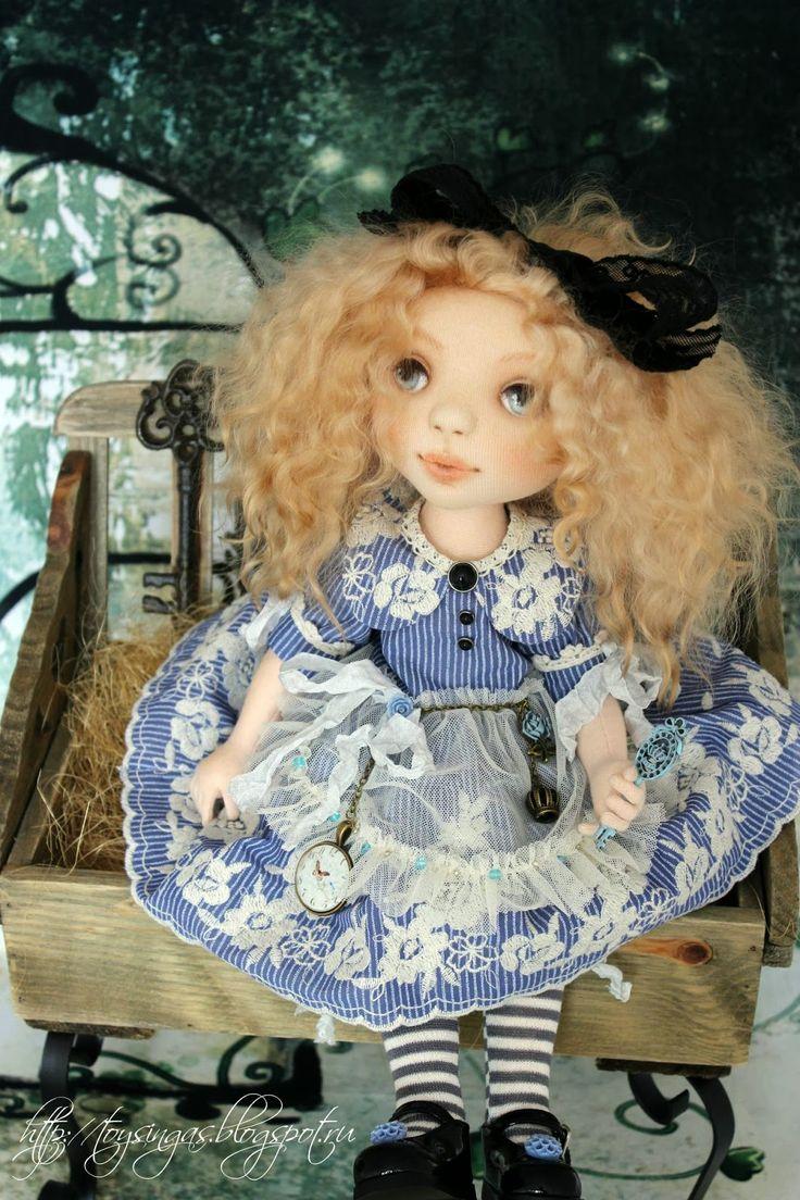 Изумительные авторские куклы Инги Киселёвой