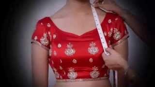 Lehenga Choli Measurment - YouTube