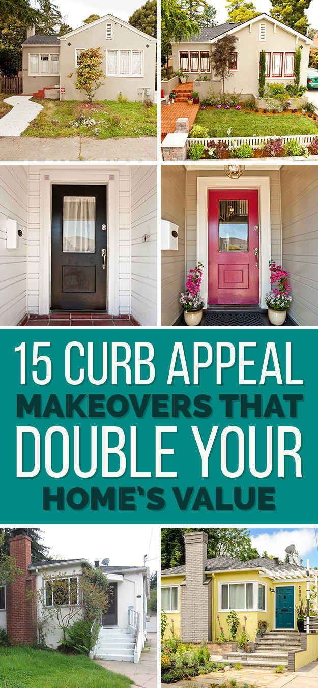 15 Curb Appeal Makeovers That Can Double Your Home's Value