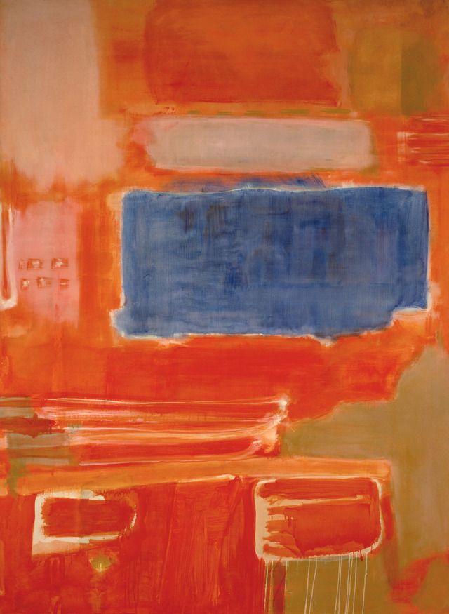 "oil on canvas, 88-7/8 x 65"" (225.7 x 165.1 cm), 1948, Rothko © 1998 Kate Rothko Prizel and Christopher Rothko / ARS,"
