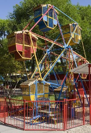 Ferris Wheel at Kiddie Park, San Antonio I used to ride this and i have taken all my girls to kiddie park.