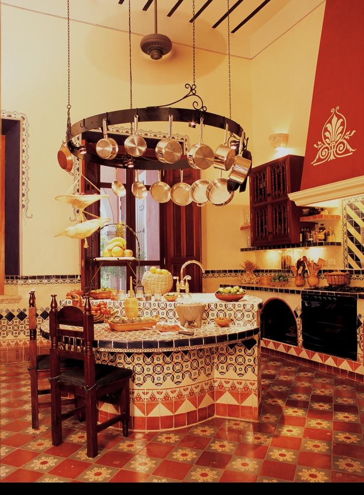 2688 best Mexican Decor ideas images on Pinterest Haciendas - mexican kitchen design
