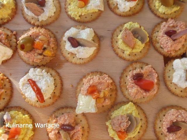 Kulinarne Wariacje: Przekąski z krakersów