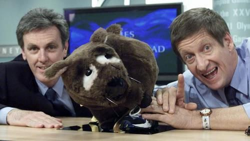 Roy and HG (John Doyle and Greig Pickhaver), with Fatso - The Fat Arse Wombat, received huge acclaim for The Dream, their satirical look of the Sydney Olympics in 2000.