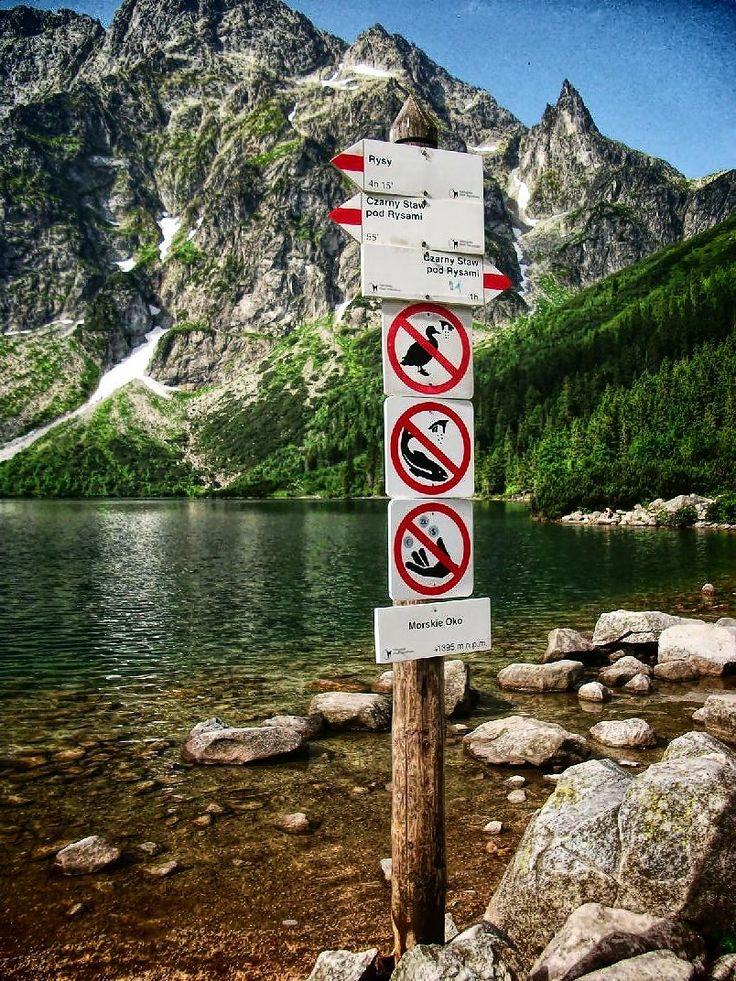 Morskie Oko #krajobrazy #górskie #Poland #Polska #zdjęcia #HDR #photography #landscapes #góry #Mountains #Tatry #Tatra #Mountains