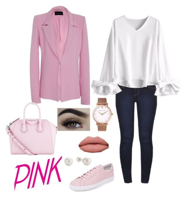 """Pink Fever!"" by fashionhuntersite on Polyvore featuring moda, Dorothy Perkins, Brandon Maxwell, Givenchy, South Parade y Larsson & Jennings"