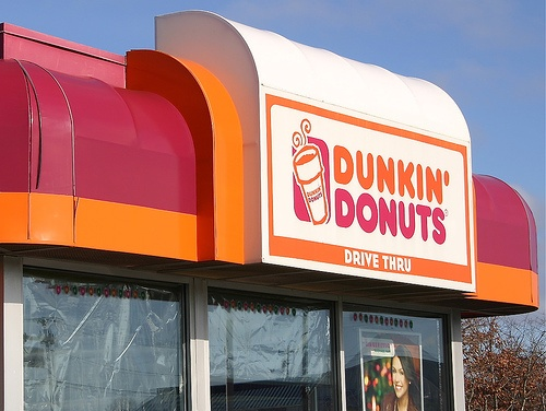 Dunkin' Donuts  :). Savannah Rose's staple throughout her years at JWU!!!