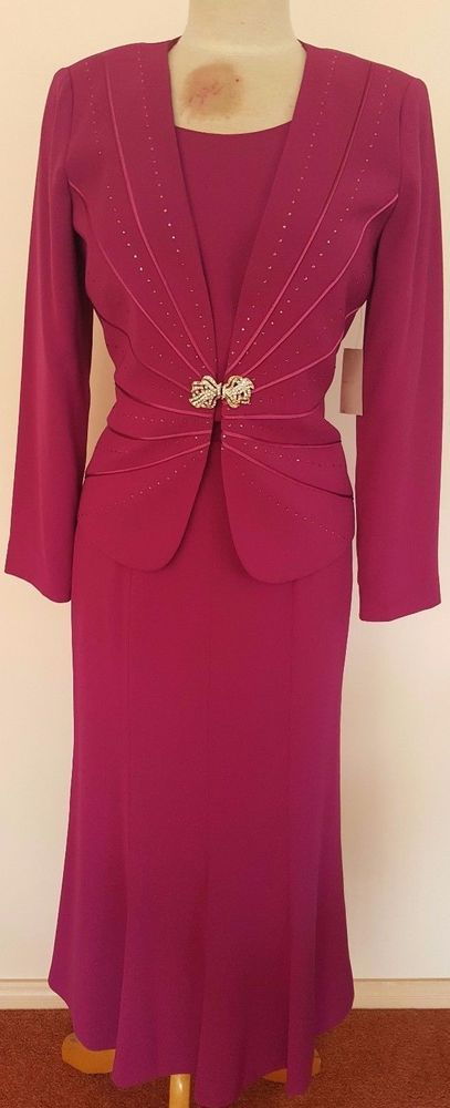 SIZE 10 MOTHER OF THE BRIDE/GROOM SPRING RACING MELBOURNE CUP SUIT NEW