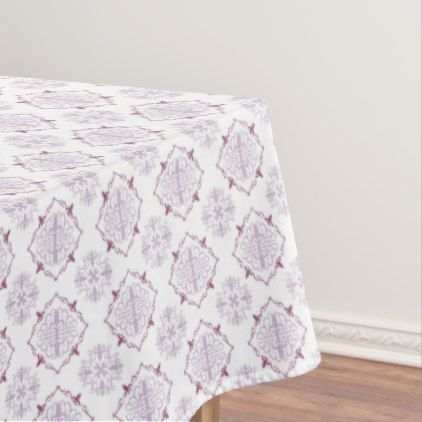 Purple Baroque Royal Damask Tablecloth - classic gifts gift ideas diy custom unique