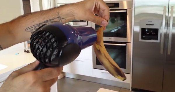 Ezután te sem fogod eldobni a megfeketedett banánt! Íme egy hihetetlen trükk!