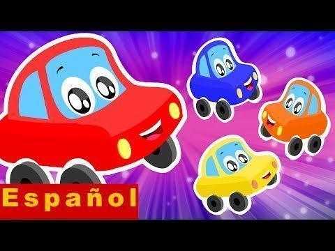 Poco coche rojo | Cinco pequeños bebés | Rimas para Niños – YouTube – #Ba…