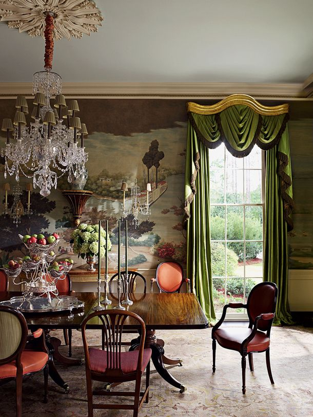 Southern dining room by Richard Keith Langham