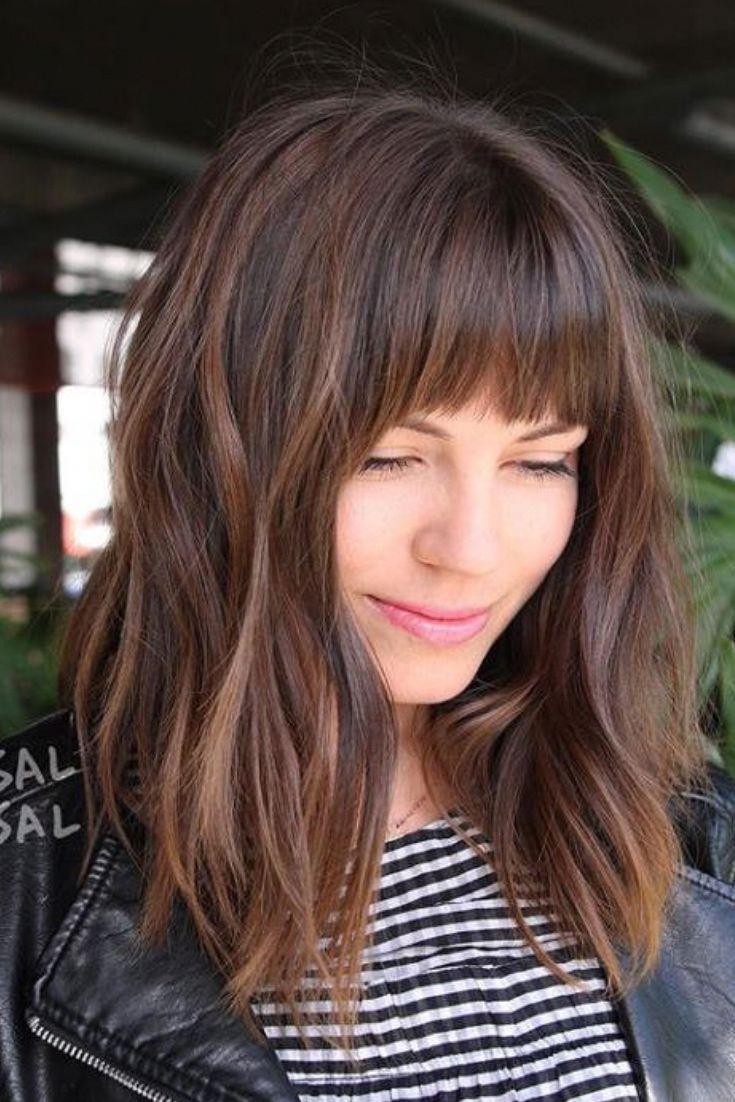 Mittellange Haare Haarschnitt Longbob In 2020 Frisuren Haarschnitte Haartrends 2018 Haarschnitt