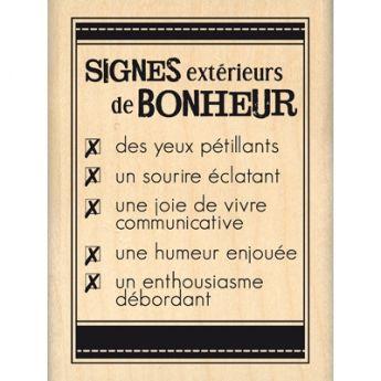 SIGNES DE BONHEUR