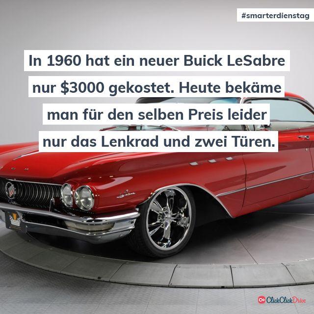 Hättet Ihr gedacht, dass man sich noch vor 60 Jahren ein brandneues Luxusauto f…