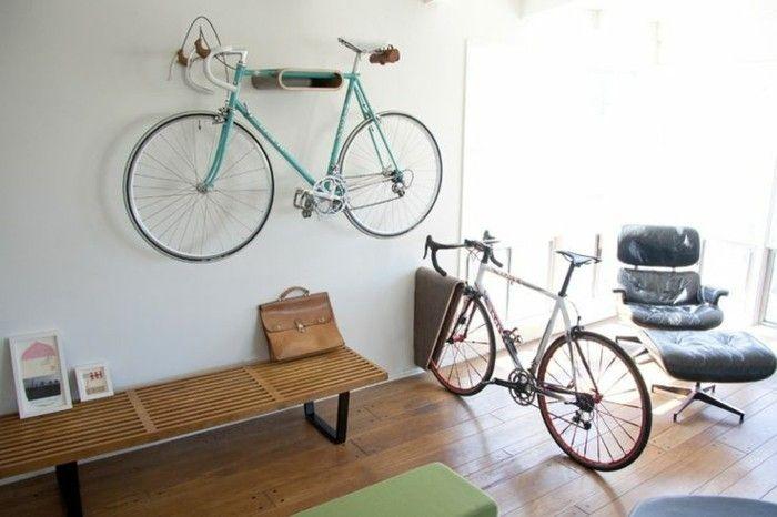 vélos dans un appartement - porte velo 4 velos rangement vélo appartement