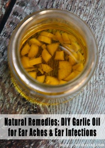 Natural Remedies: Garlic Oil for Ear Aches and Ear Infections