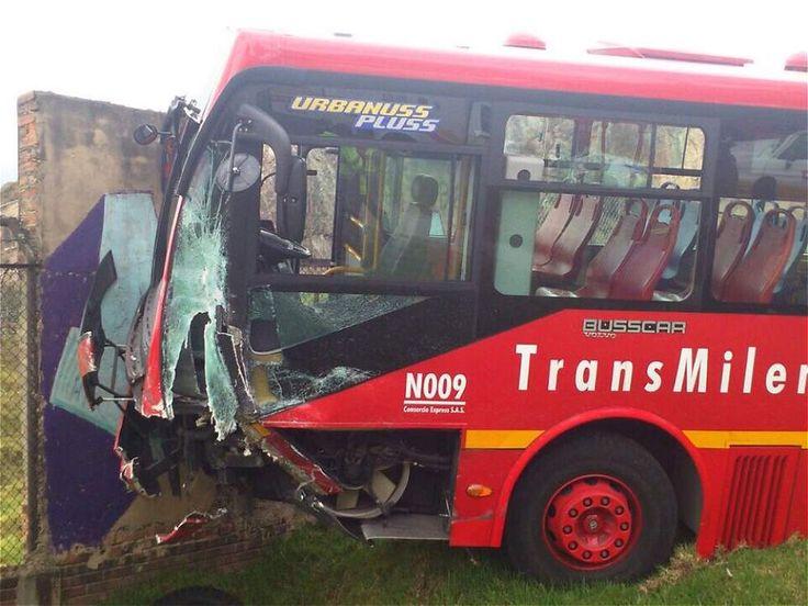 Accidente de TransMilenio