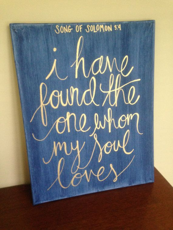 This canvas quote is great for any master bedroom or living room decor! Also would make the perfect wedding present for when you want to buy