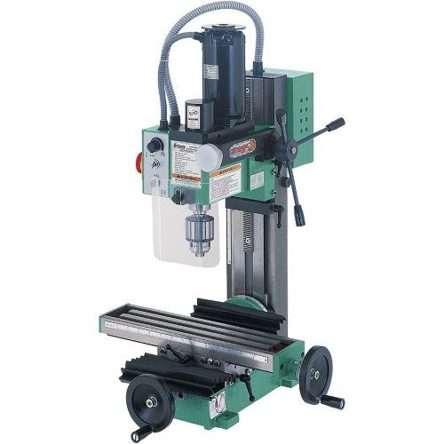 Grizzly G8689 Mini Milling Machine - http://www.homeimprovementoffer.com/milling-machines/grizzly-g8689-mini-milling-machine/
