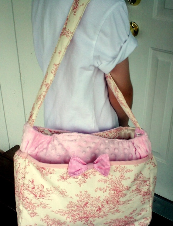Items Similar To Custom Boutique Small Sprouts Classic Diaper Bags Match Your Car Seat Cover Or Stroller On Etsy
