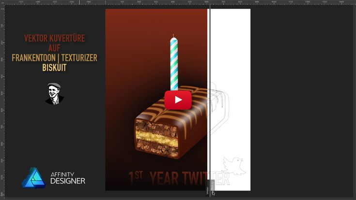 Biskuit – Affinity Designer in a minute [ADIAM]
