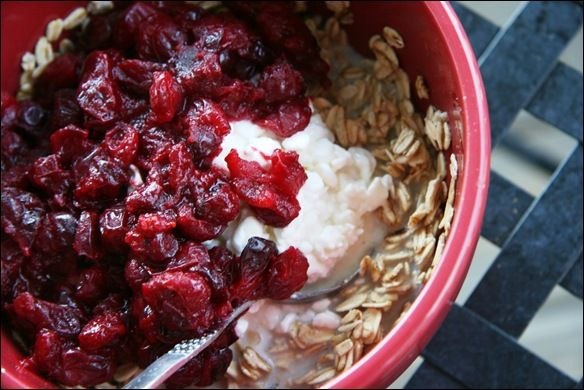 Cranberries, Oatmeal and Cottage cheese on Pinterest