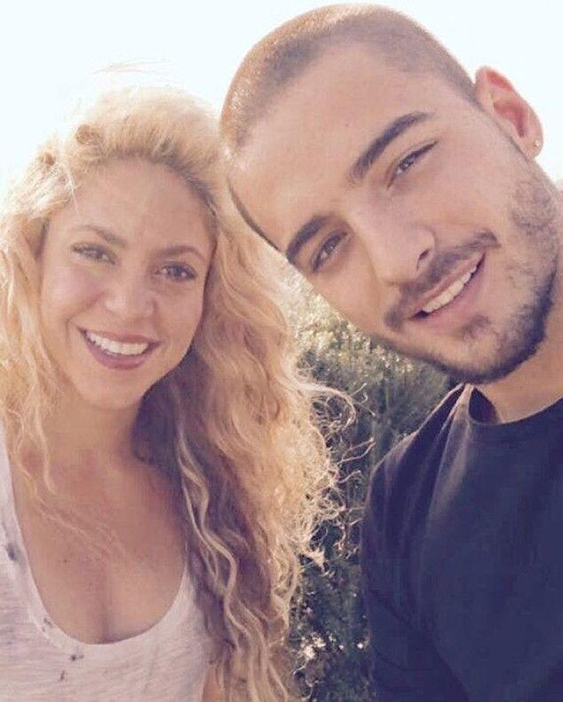 Shakira chantaje ft Maluma escucharon la canción es súper Shakira rocks #Shakira