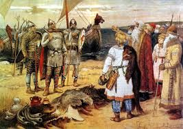 15 – Los eslavos, de origen indoeuropeo, habitaban terrenos más alejados en las llanuras de Rusia.