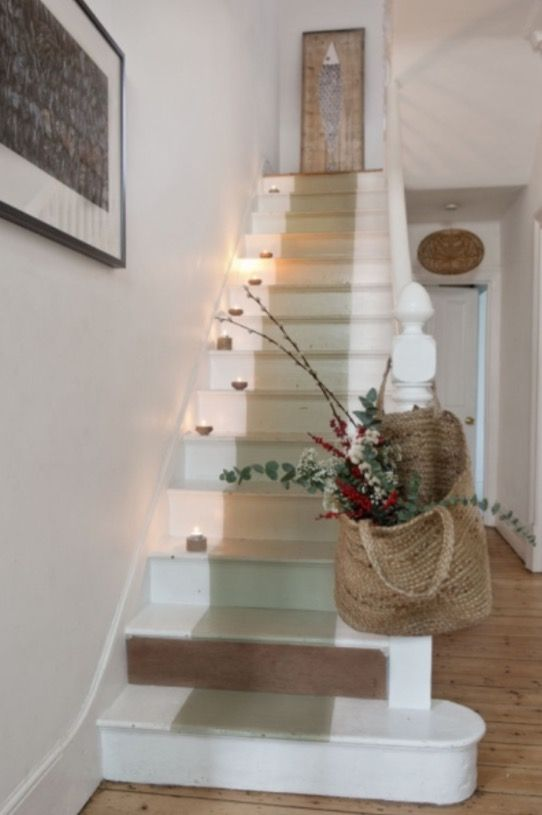 "This lovely staircase is from our feature ""Perks of December"""