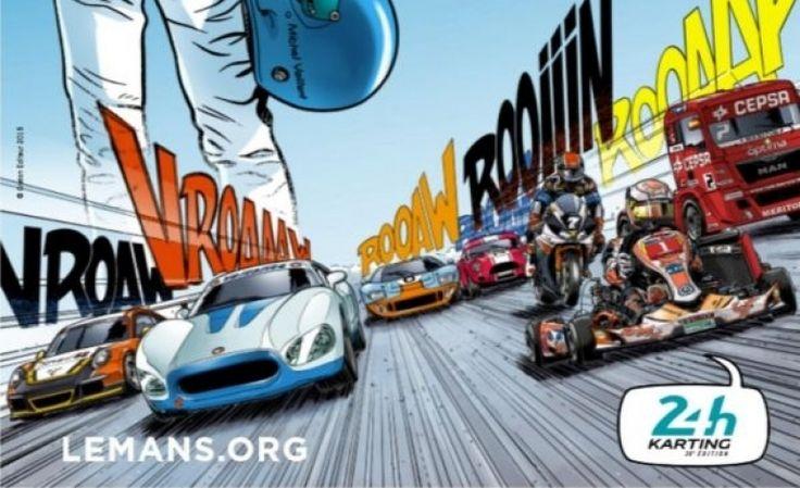 Michel Vaillant invité d'honneur de la Fête de l'ACO au Mans