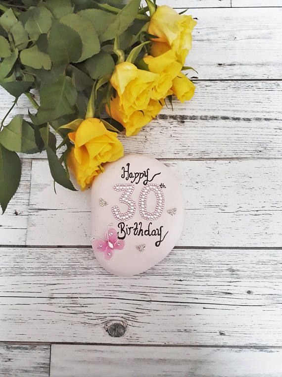Pebble Art Gift 30th Birthday Gifts Keepsake For Her Women